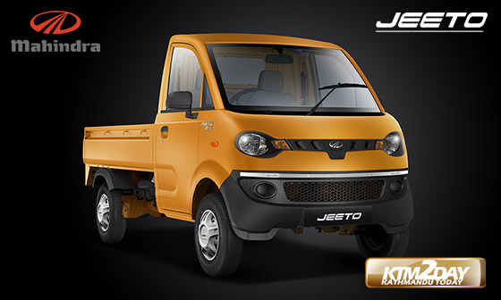 Mahindra launches new pickup Jeeto in Nepal