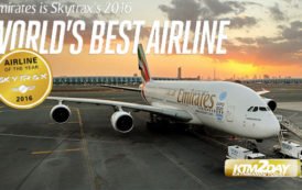 Emirates bags World Best Airline 2016
