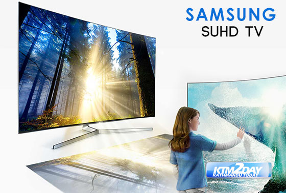 samsung india launched suhd tv in nepali market. Black Bedroom Furniture Sets. Home Design Ideas