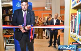 "US Embassy opens ""Makerspace"" in Teku"