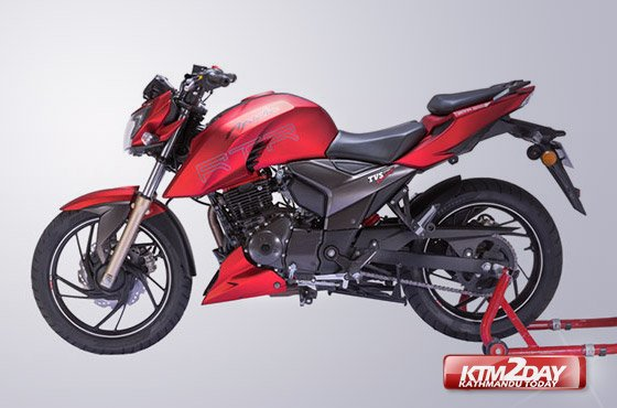 TVS Apache RTR 200 4V launched in Nepal