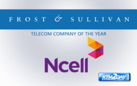 Ncell bags 'Telecom Company of the Year' award