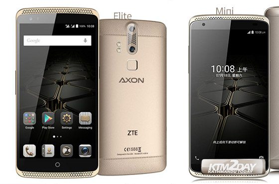 ZTE launches Axon Elite and Axon Mini in Nepal