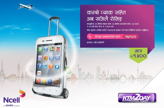 Ncell launches cheap international roaming pack