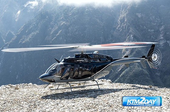 Simrik Air adds Bell 407GXP helicopter to its fleet