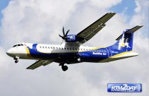 Buddha Air's new aircraft takes flight