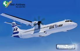 Yeti Airlines set to induct new ATR 72 into its fleet