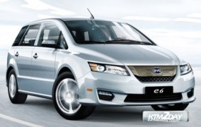 BYD Electric car E6 model launched in Nepal