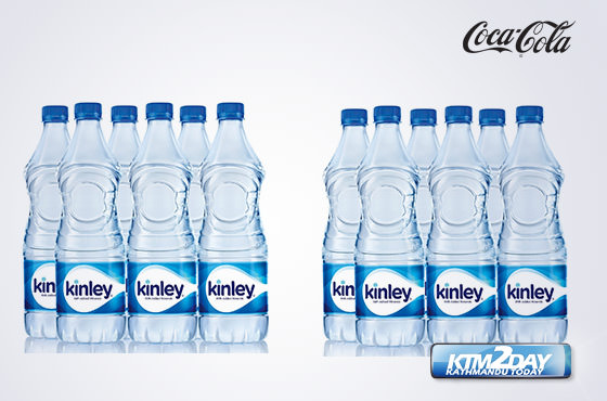 Coca Cola launches Kinley water in Nepal
