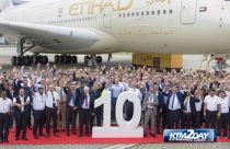 Etihad Airways celebrates 10th anniversary in Nepal