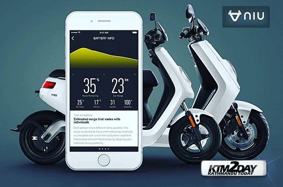 Niu Electric Scooters Launched in Nepal