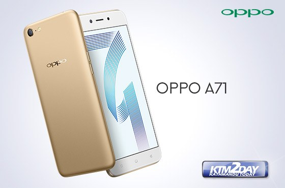 OPPO Launches A71 smartphone in Nepal