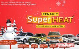 Renault Nepal brings SuperHEAT winter offer