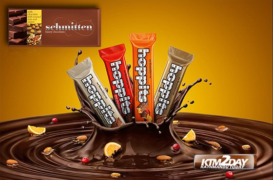 Schmitten & Hoppits chocolate brands launched in Nepal