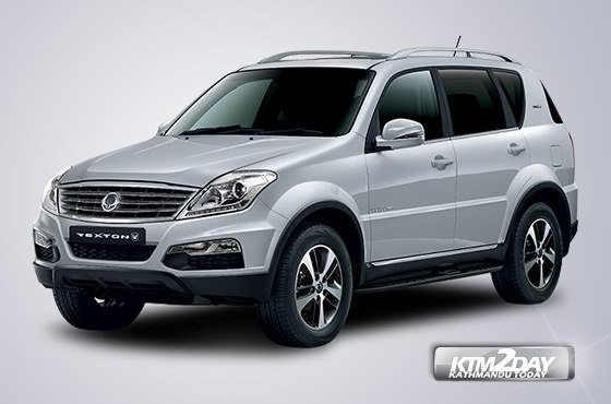 SsangYong Rexton launched in Nepalese market