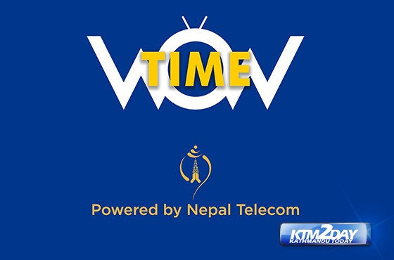 Nepal Telecom Launches Live TV app WowTime