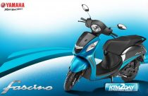 Yamaha Fascino comes in new dual tone look