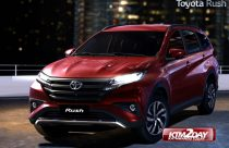 Toyota launches compact SUV 'Rush' in Nepal