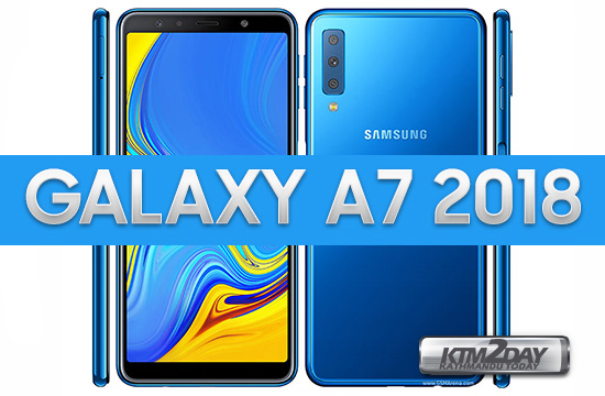 Samsung Galaxy A7 2018 With Triple Camera Setup Launched