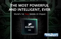 Huawei launches Kirin 980, the world's first 7nm mobile AI chipset