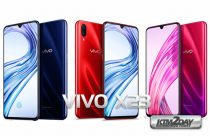 Vivo X23 with 6.41-inch Full HD+ in-display fingerprint scanner