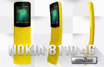 Nokia 8110 4G 'Banana' Phone With 4G VoLTE, KaiOS launched