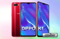 OPPO K1 launched with waterdrop notch and in-display fingerprint