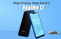 Realme C1 With 4,230mAh Battery, Display Notch Launched
