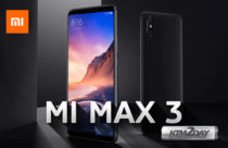 Xiaomi Mi Max 3 – Phablet with 6.9 inch screen and 5500 mAh battery