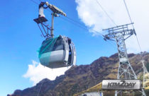 Nepal's third cable car at Kalinchowk comes into operation