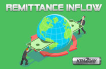 Remittance inflow increases to Rs.154 billion