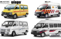 Tata Winger minibus launched in Nepali market