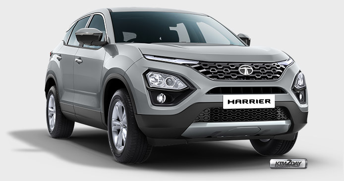 Tata Harrier Colors