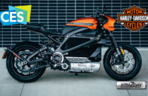 CES 2019 : Harley Davidson unveils LiveWire, the all-electric motorcycle