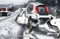 CES 2019 : Hyundai's Elevate concept car uses insect-like legs