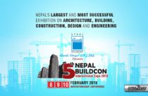 5th Nepal Buildcon International Expo from 8-10 Feb