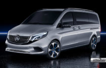 Mercedes-Benz Concept-EQV electric MPV unveiled at Geneva