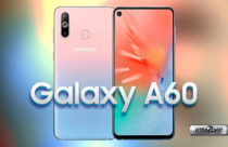 Samsung Galaxy A60 with triple camera,in-display hole and triple rear camera
