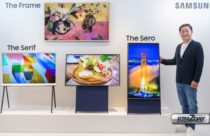 Samsung showcases first vertical TV : The Sero