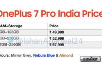 OnePlus 7 Pro price in India leaked before launch