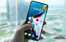 Realme X teased in a picture showing full display