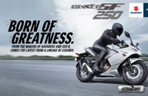 Suzuki Gixxer 250 SF, a sport touring motorcycle launched in Nepal