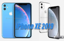 Apple iPhone XR 2019 renders show dual rear camera on a square bump
