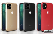 iPhone XR 2019 colors appear in high quality 3D render