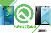 List of Huawei smartphones to receive Android Q update