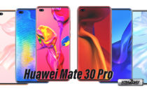 Huawei Mate 30 Pro appears in high quality 3D render