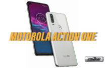 Motorola Action One images with in-display hole camera leaked