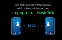 Oppo's Mesh Talk app works without cellular network and internet