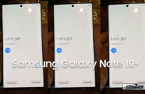Samsung Galaxy Note 10+ leaks in live pictures