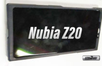 Nubia Z20 Real Image Shows Full Screen Display; Launching Aug 8